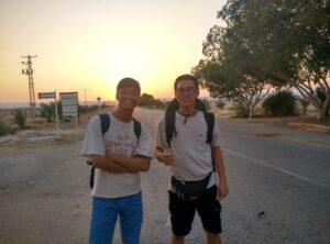 Tấm lòng vàng của sinh viên Nguyễn Trung Hiếu và Đồng Hoàng Sơn – Chương trình TTN Israel dành tặng cho sinh viên khoá sau